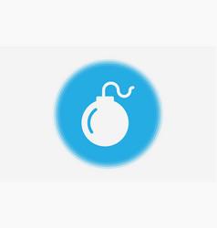 bomb icon sign symbol vector image