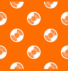 Gramophone vinyl lp record pattern seamless vector