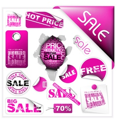 sale tickets vector image