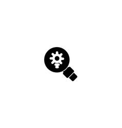 Search icon template sign design vector