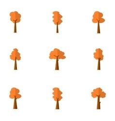 Tree flat vector
