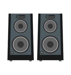 concert speakers icon vector image