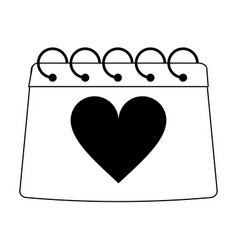 gift silhouette vector image vector image