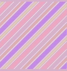 bacolor pink striped abstract seamless pattern vector image