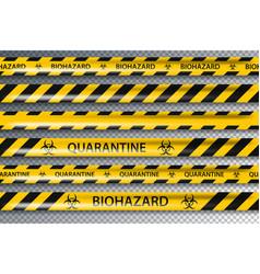Biohazard danger yellow black seamless tape vector