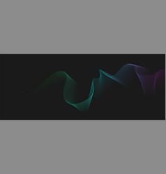blended twisted lines dynamic gradient flowing vector image