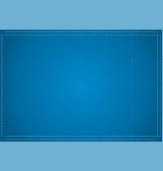 blueprint paper blank blue sheet paper vector image