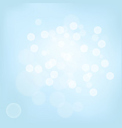 Bright background with bokeh effect vector