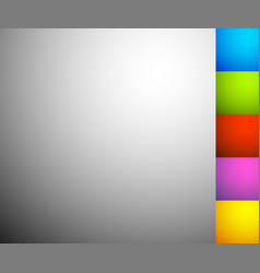 Set of 6 shaded illuminated backgrounds backdrops vector