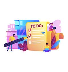 task management it concept vector image
