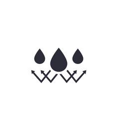 Waterproof sign vector