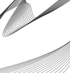 wavy design vector image