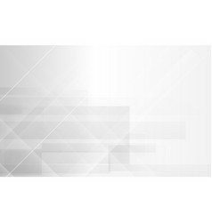white abstract modern geometric background vector image
