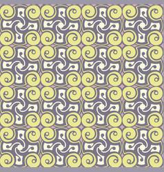 Yellow spirals vector