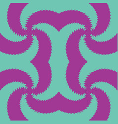 seamless pattern mustache pattern or abstract vector image vector image