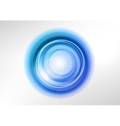 background blue light center vector image
