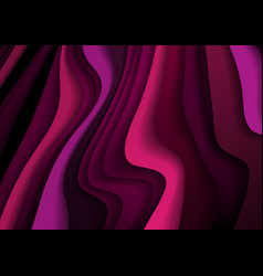 abstract purple corporate curved waves background vector image