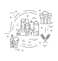 Beer Concept vector