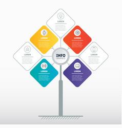 Brochure design template business presentation vector