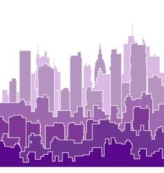 Color shades purple vector