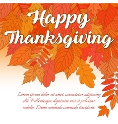 happy thanksgiving day 1 vector image