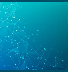 Plexus polygonal structure data arrays or vector