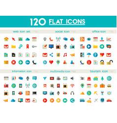 Ui and multimedia big icon set vector