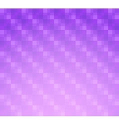 Lilac background with transparent squares vector image