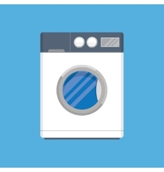 modern washing machine vector image