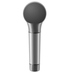 microphone 02 vector image vector image