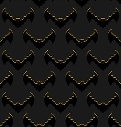 Bats background Flock of flying bloodsuckers vector