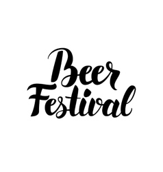Beer Festival Quote vector