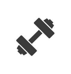 dumbbell icon images vector image