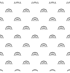 Large garage pattern simple style vector