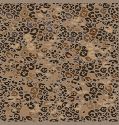 Leopard seamless print vector