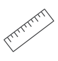 measure tool thin line icon tools and design vector image