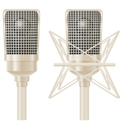 microphone 03 vector image