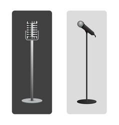 Microphones vector