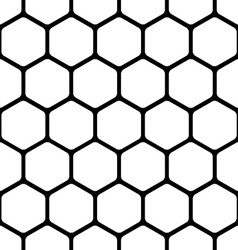 seamless pattern consists a honeycomb vector image