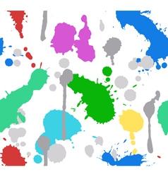color splash paint seamless vector image