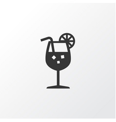fresh juice icon symbol premium quality isolated vector image vector image
