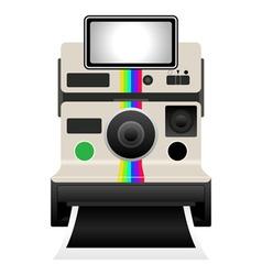 polaroid camera vector image vector image