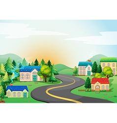 Village vector image vector image