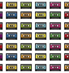 cassette icon design vector image
