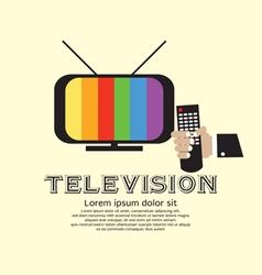 Retro Television vector image vector image