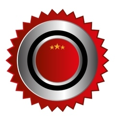 seal stamp guaranted icon vector image vector image