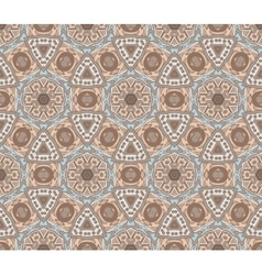 Absract seamless geometric mosaic print vector
