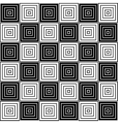 Black and white geometric texture vector