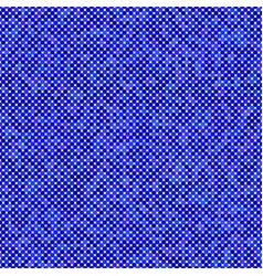 Blue seamless dot pattern background vector