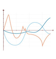Business data market elements diagrams vector